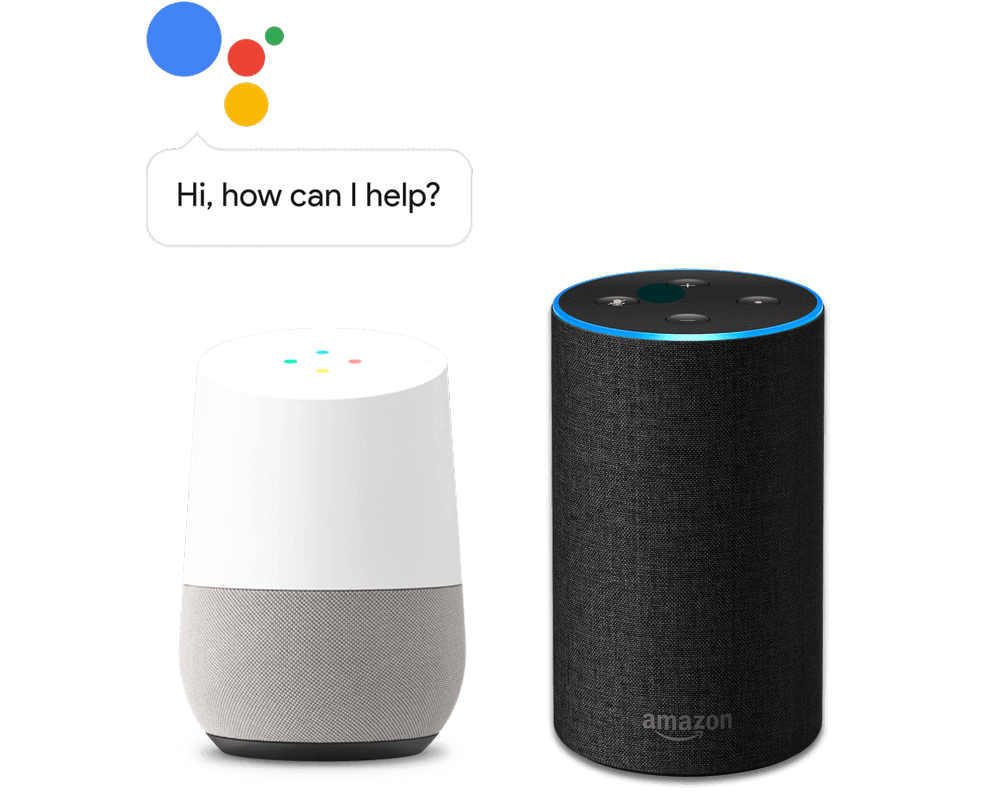 Supports the Google Assistant, Alexa, and IFTTT