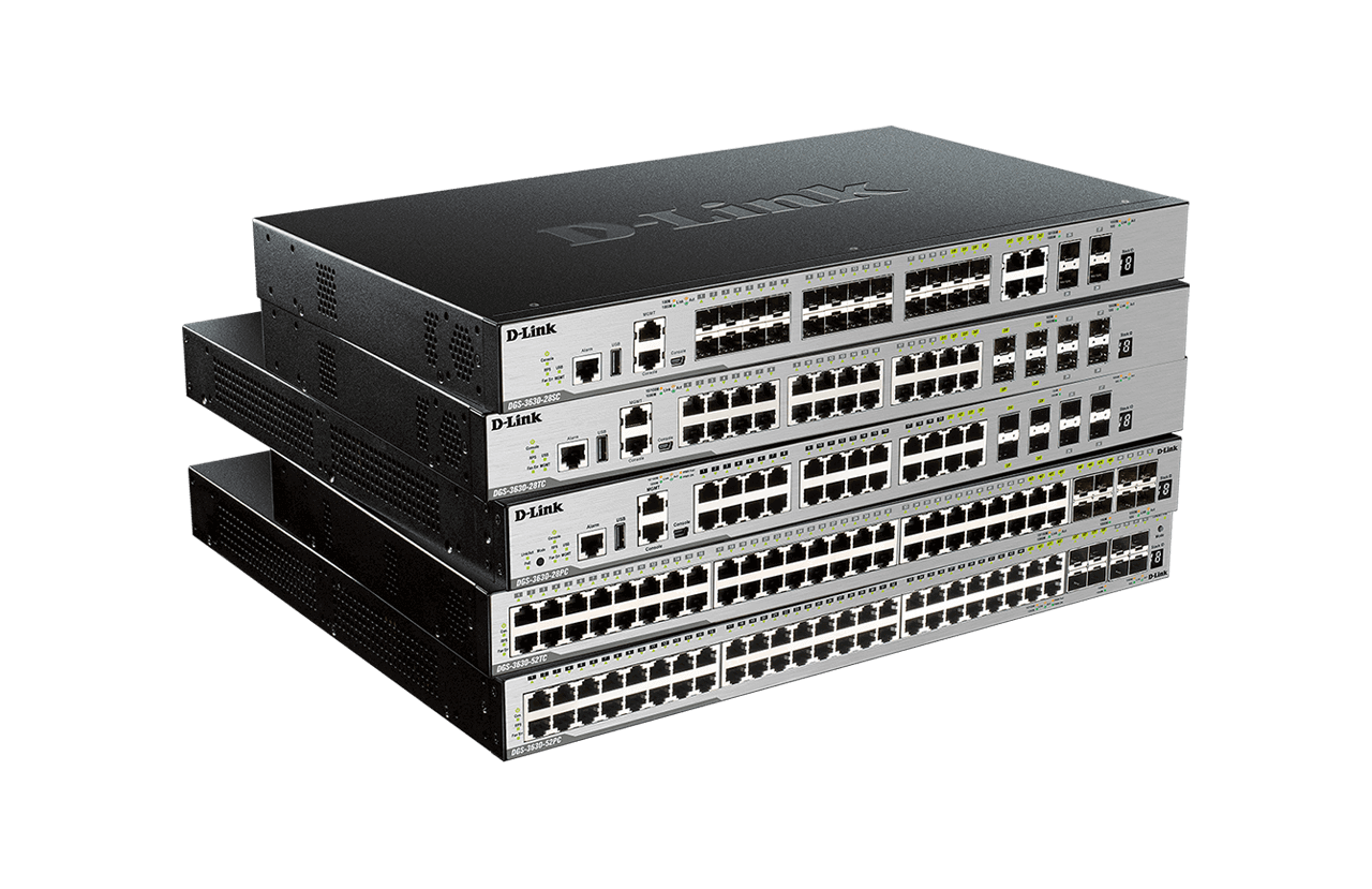 Fully Managed Switches - Switches | D-Link