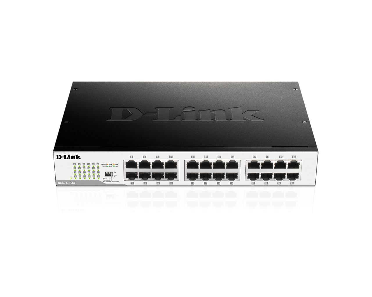 DGS-1024D 24-Port Gigabit Unmanaged Desktop/Rackmount Switch