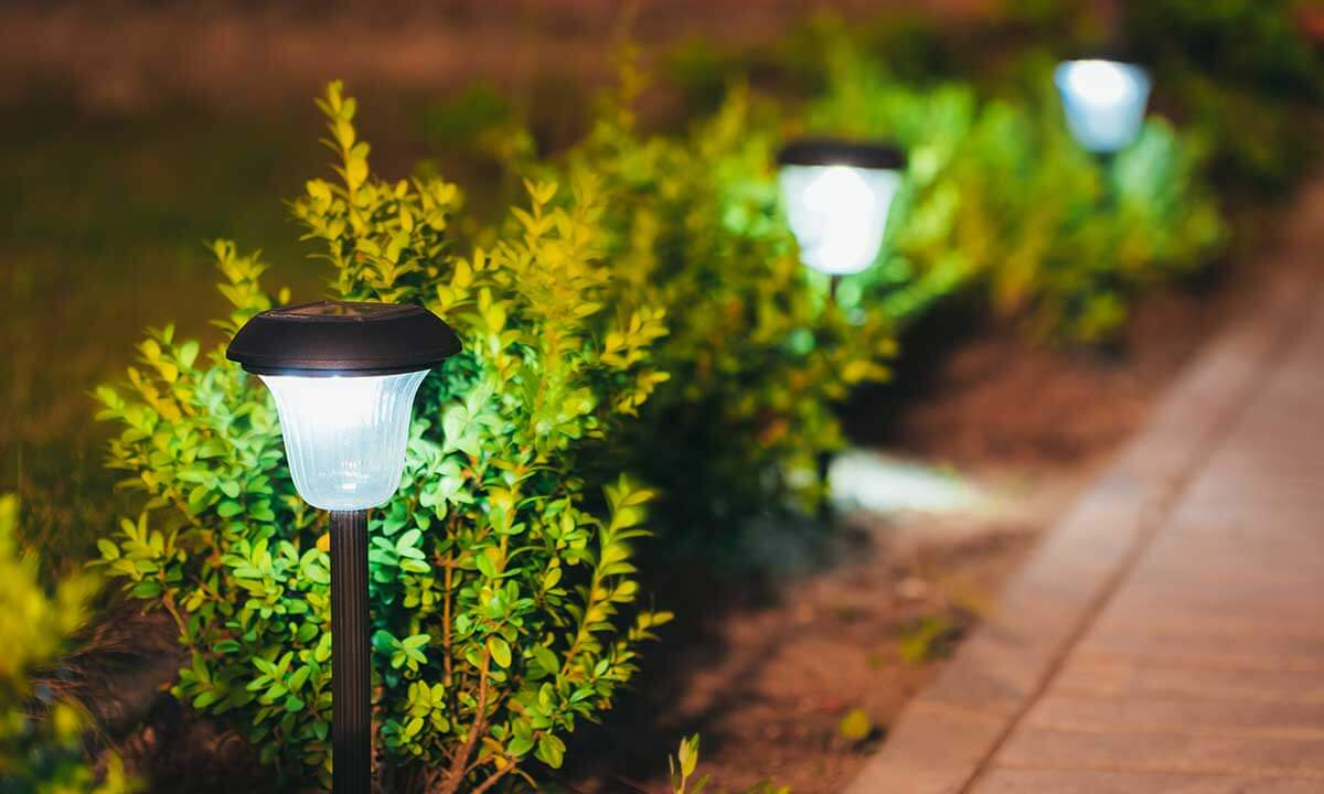 Garden Lighting & Driveway Path Lights